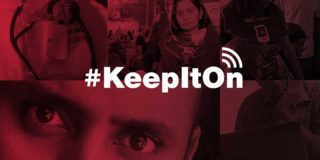 Collage of images about #KeepItOn