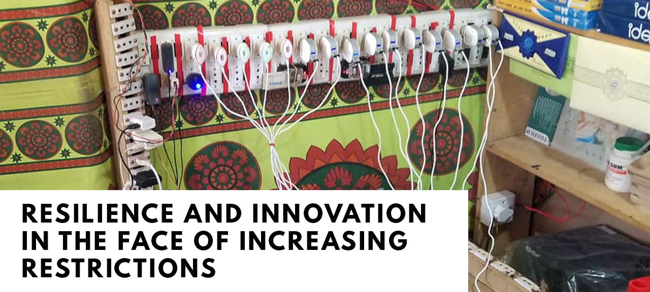 Resilience and innovation in the face of increasing restrictions
