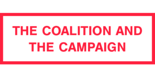 The coalition and the campaign