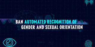 Ban automated recognition of gender and sexual orientation