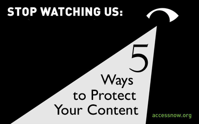 5 Ways to Protect Your Data